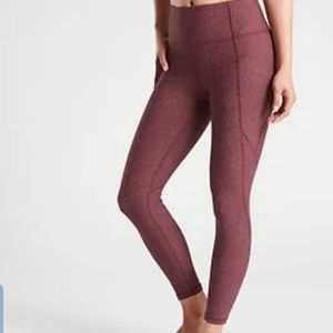 Athleta marled ankle pants